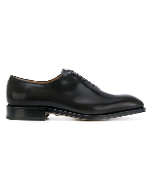 Ferragamo | Black Carmelo Derby Shoes for Men | Lyst