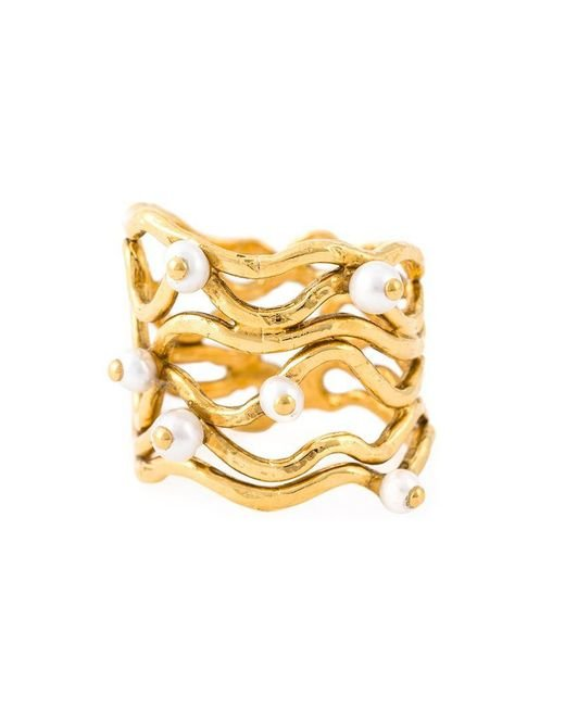Aurelie Bidermann | Metallic 'cheyne Walk' Wire Ring | Lyst