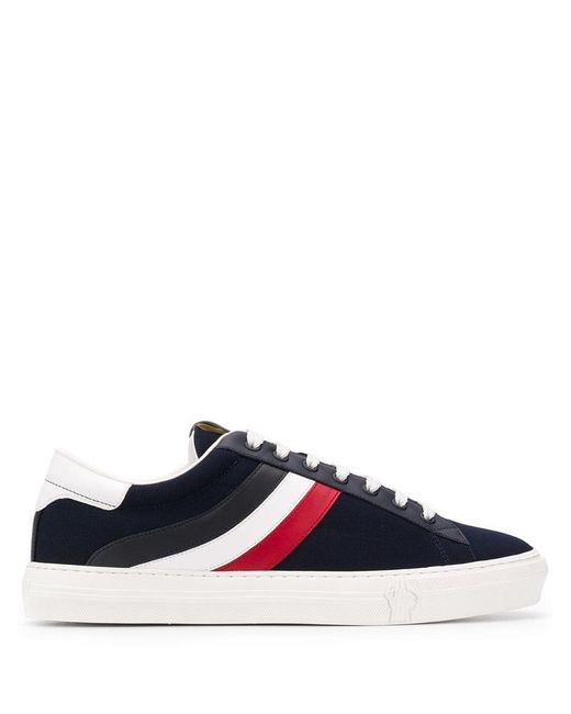 Moncler - Blue Zapatillas tricolores for Men - Lyst
