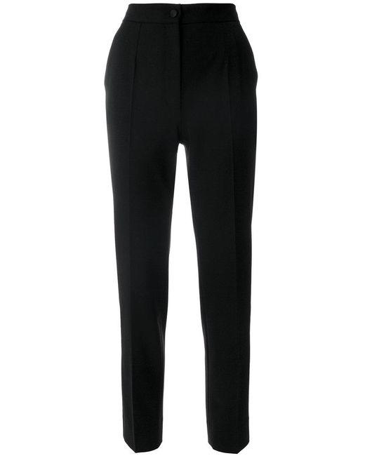 Pantalon Droit Noir - Dolce & Gabbana s78b190h