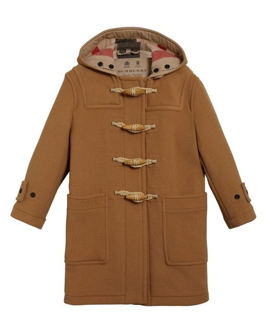 Burberry - Multicolor Greenwich Duffle Coat - Lyst
