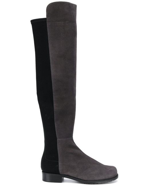 Stuart Weitzman - Gray 5050 Knee High Boots - Lyst