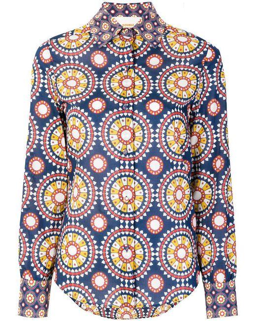 LaDoubleJ - Blue Voile Shirt - Lyst