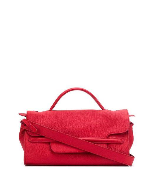 Zanellato Red Nina Tote Bag