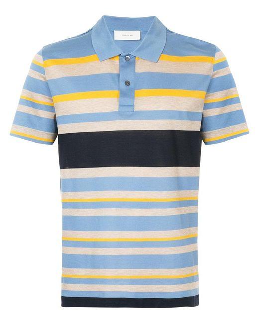 Cerruti 1881 - Blue Multi-stripe Polo Shirt for Men - Lyst