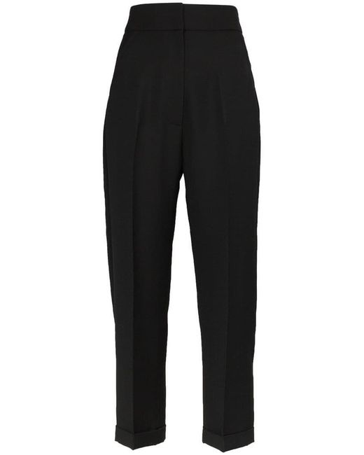 Jacquemus - Black Cropped Tailored Trousers - Lyst