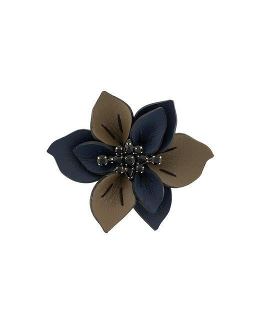 Marni - Blue Spilla Floreale - Lyst