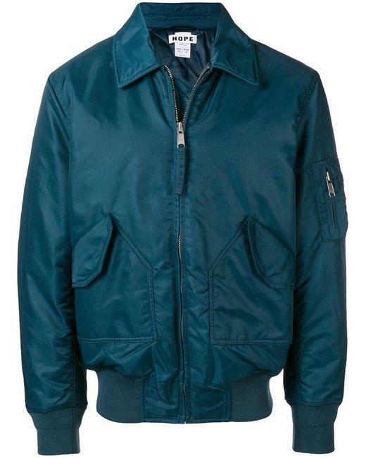 Hope - Blue Flight Jacket for Men - Lyst