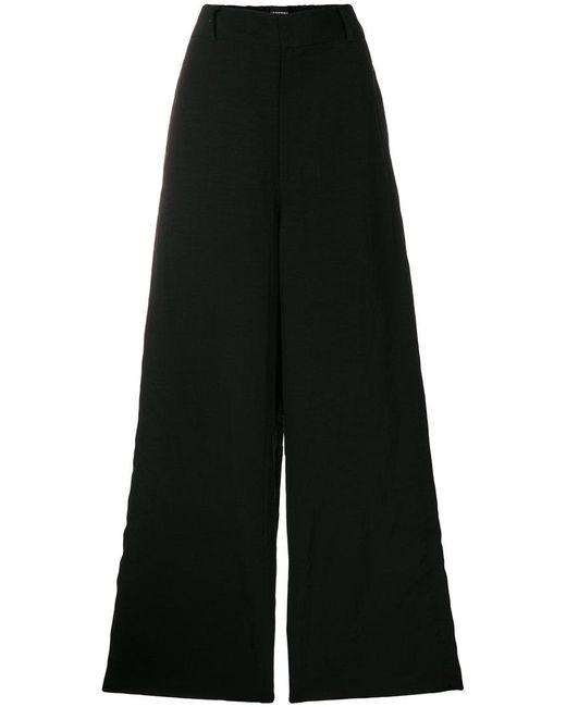 Moohong - Black Flared Trousers - Lyst