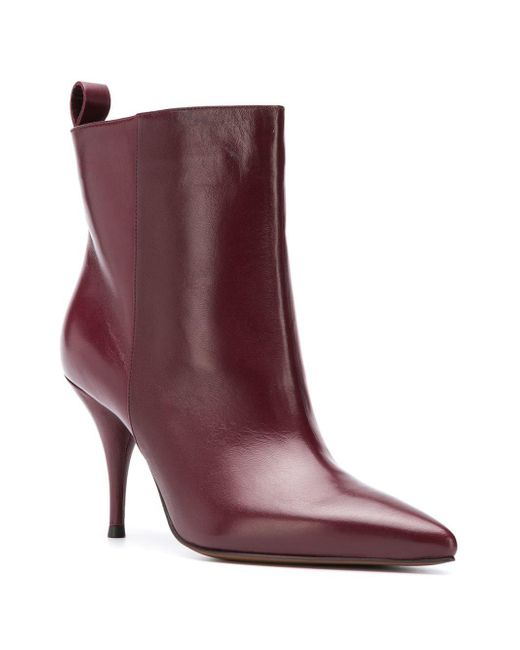 10bf2bde0da ... Lyst L Autre Chose - Red Pointed Toe Ankle Boots ...