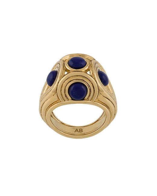 Aurelie Bidermann - Metallic Azzura Ring - Lyst
