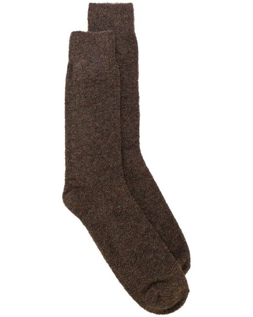 Howlin' By Morrison | Brown Classic Knitted Socks for Men | Lyst