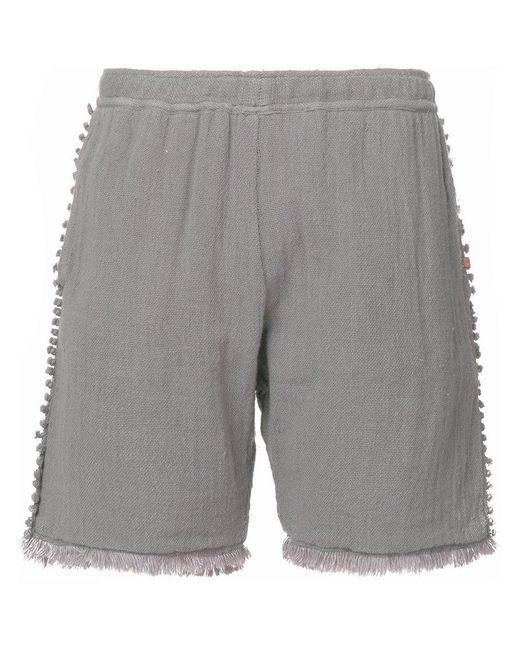 Caravana - Gray Tunkan Shorts - Lyst