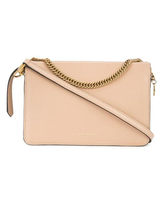 Givenchy - Brown Grained Cross3 Bag - Lyst