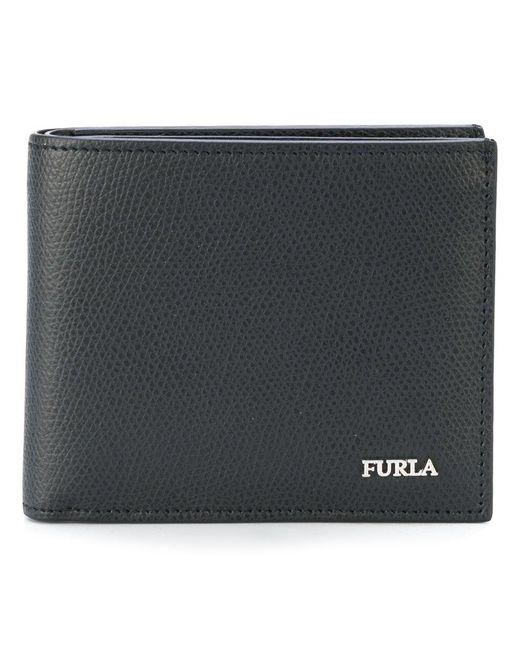Furla   Black Billfold Wallet for Men   Lyst