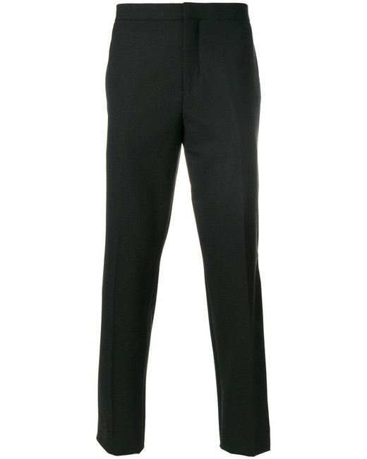 Neil Barrett - Black Stripe Detail Slim-fit Trousers for Men - Lyst