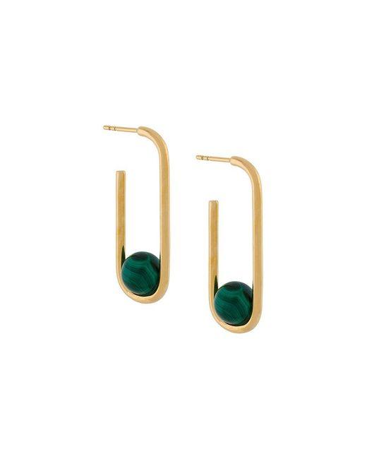 Astley Clarke | Metallic Marcel Oval Hoop Earrings | Lyst