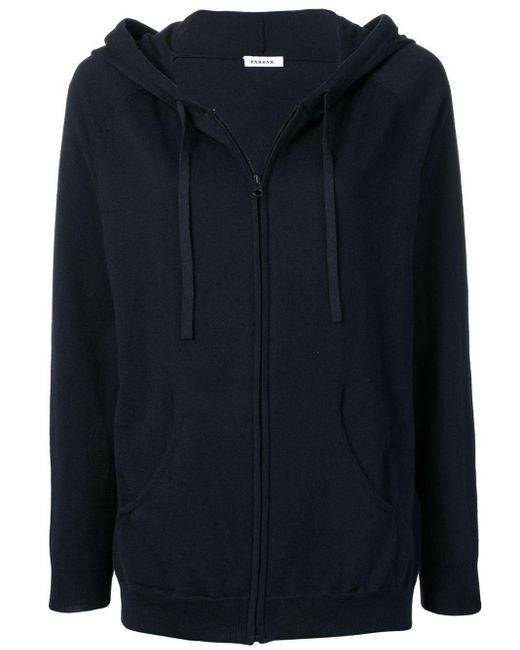 P.A.R.O.S.H. - Blue Knitted Hoodie - Lyst