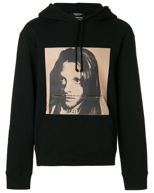 CALVIN KLEIN 205W39NYC - Black X Andy Warhol Foundation Sandra Brant Hoodie for Men - Lyst