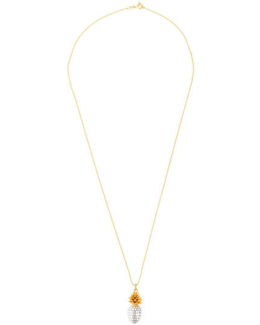 True Rocks - Metallic 'pineapple' Necklace - Lyst