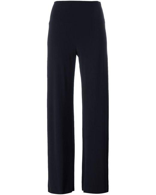 Norma Kamali   Blue - High Waisted Palazzo Pants - Women - Polyester/spandex/elastane - S   Lyst