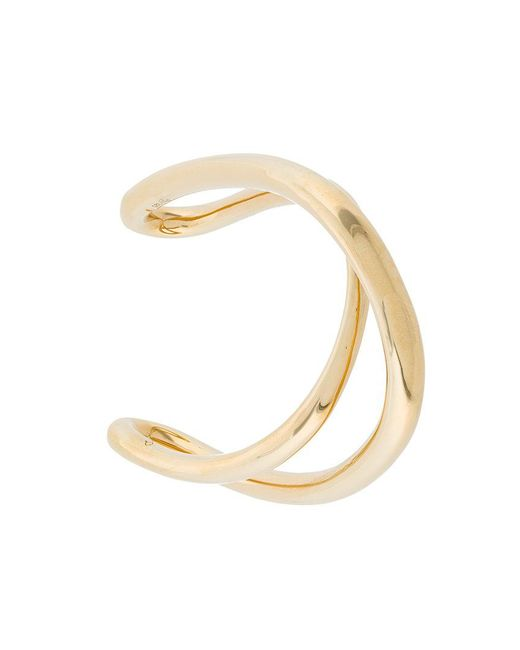 Charlotte Chesnais | Metallic Initial Bracelet | Lyst