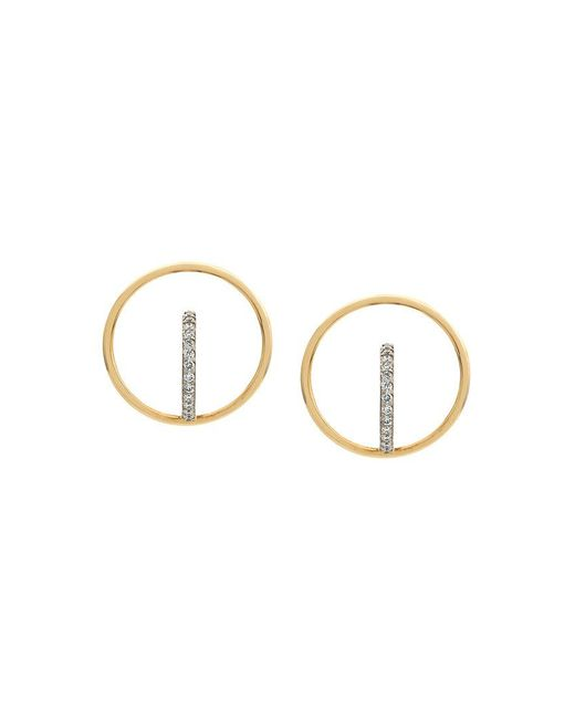 Charlotte Chesnais - Metallic Saturn S Earrings - Lyst