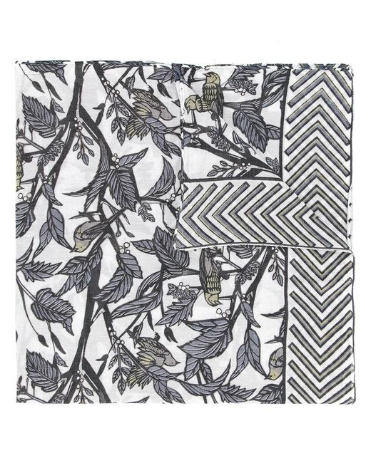 Yoshiokubo - Gray Dry Leaf Scarf for Men - Lyst