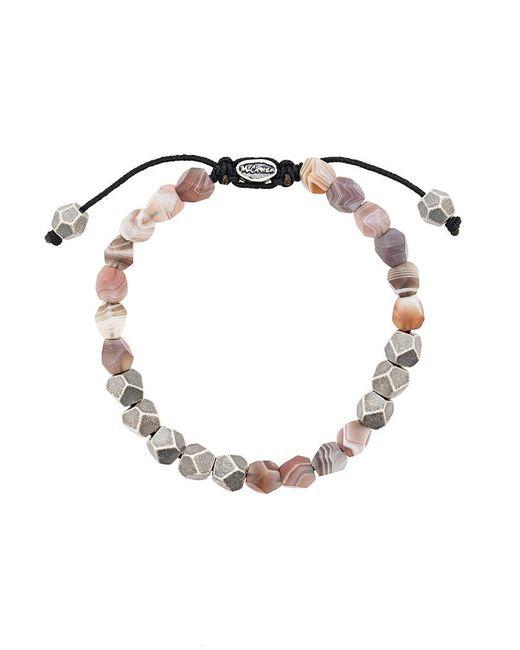 M. Cohen - Metallic Stone Beads Bracelet - Lyst