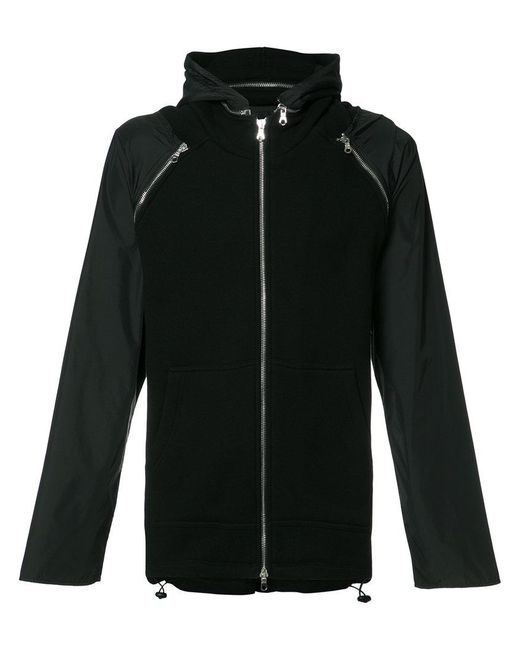 Mostly Heard Rarely Seen - Black Hooded Jacket for Men - Lyst
