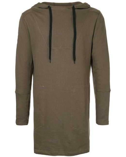 First Aid To The Injured | Green Long Line Hoodie for Men | Lyst