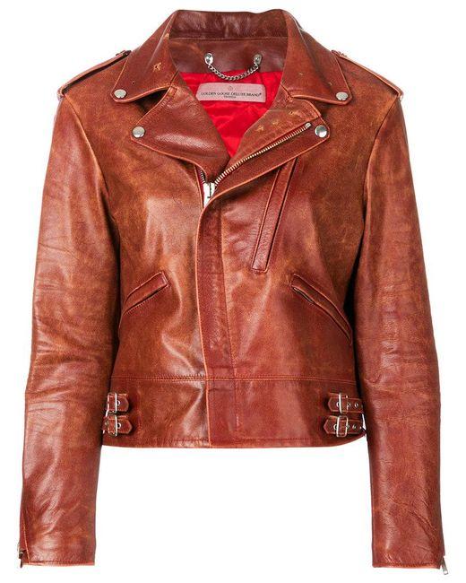 Pick A Best Online Golden Goose Deluxe Brand worn in biker jacket Cheap Big Discount Outlet Shopping Online Sale Reliable Sale Footlocker Finishline vXekIz7ka