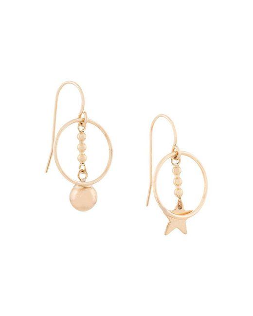 Petite Grand - Metallic Sun And Star Earrings - Lyst