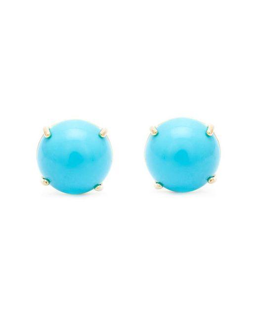 Irene Neuwirth | Blue Turquoise Stud Earrings | Lyst