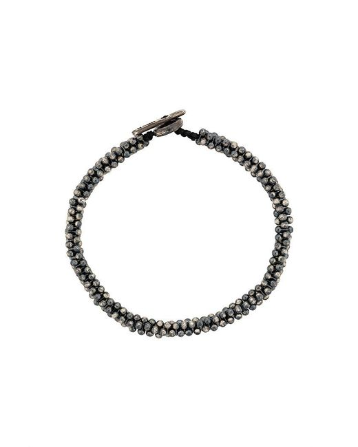M. Cohen - Metallic Beaded Bracelet - Lyst
