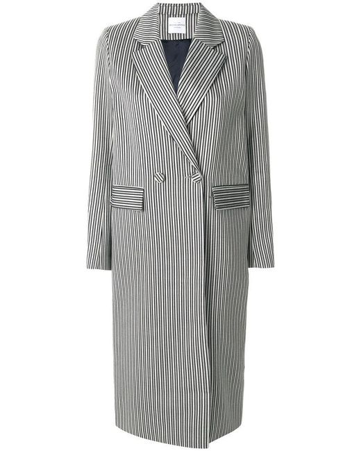 Roseanna - Gray Double-breasted Coat - Lyst