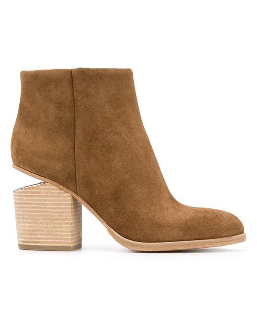 Alexander Wang | Brown Gabi Ankle Boots | Lyst
