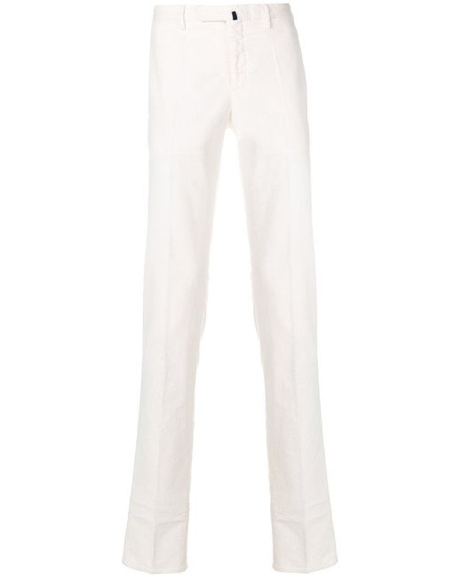 Incotex - White Slim Fit Denim Jeans for Men - Lyst