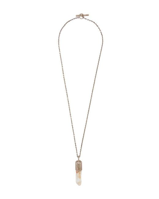 Parts Of 4 | Metallic Crystal Pendant Necklace | Lyst