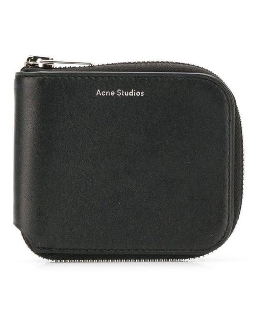 33c1b1566de2 Lyst - Acne Studios Kei S Wallet in Black