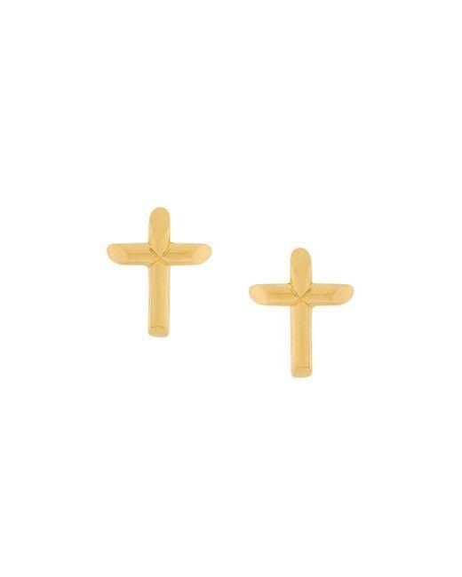 Astley Clarke | Multicolor Cross Biography Stud Earrings | Lyst