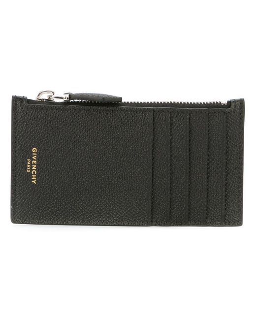 Givenchy | Black Zip Wallet for Men | Lyst
