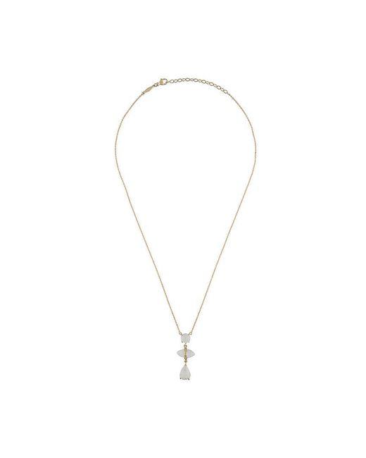 Jacquie Aiche - Metallic '3 Vertical Moonstone Drop' Necklace - Lyst