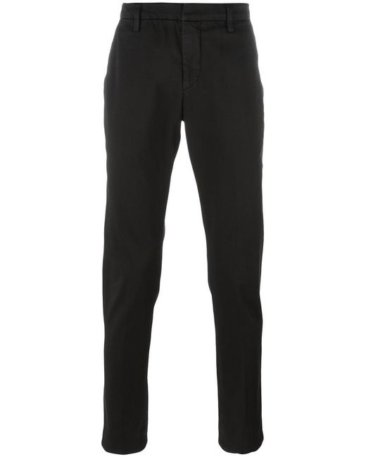 Dondup - Black Tapered Trousers for Men - Lyst