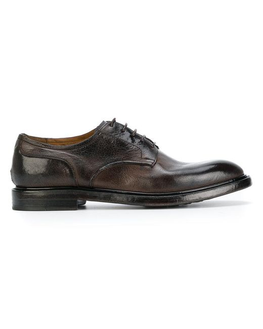 Silvano Sassetti | Brown Derby Shoes for Men | Lyst