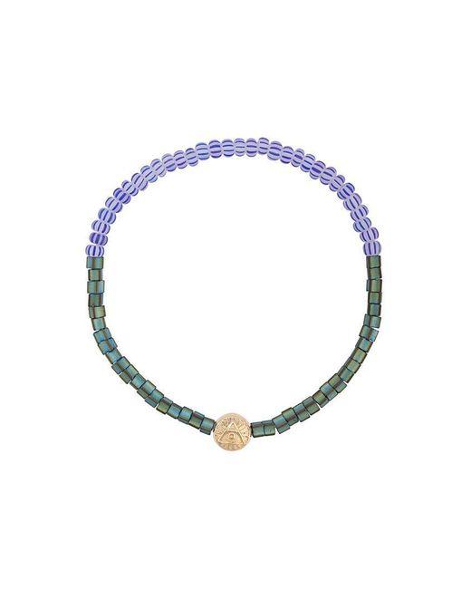 Luis Morais - Blue Large Round All Seeing Eye Bead Bracelet - Lyst