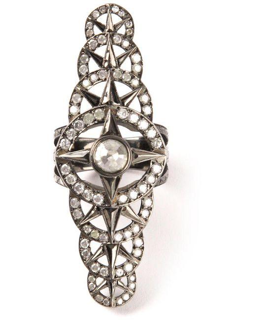 Loree Rodkin - Metallic Bondage Ring - Lyst