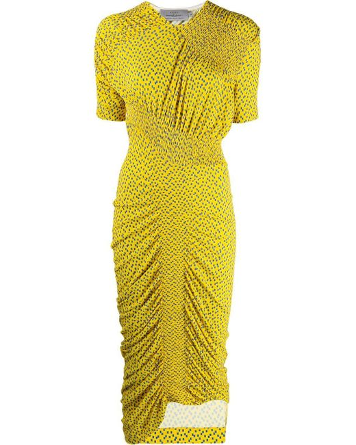 Preen By Thornton Bregazzi Yellow Alice Dress