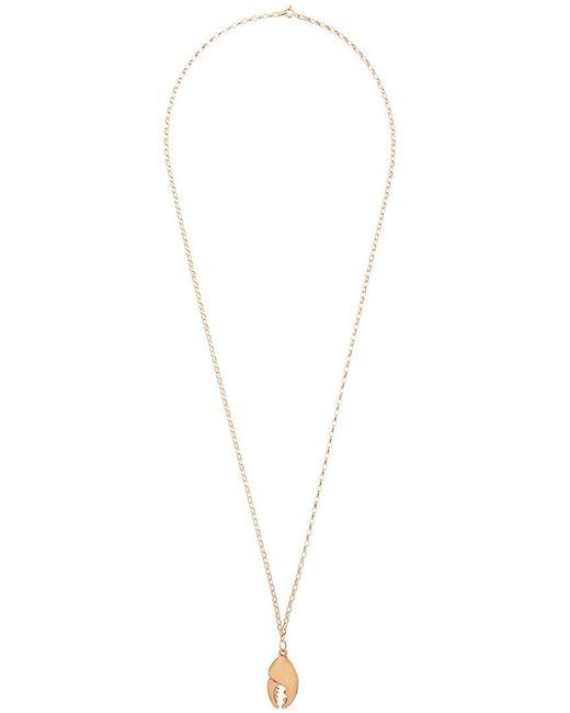 True Rocks - Metallic 'crab Claw' Pendant Necklace for Men - Lyst