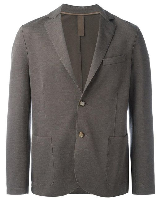 Eleventy - Brown Flap Pockets Blazer for Men - Lyst